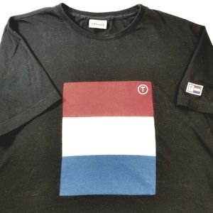 Lacoste Men's Color Block T Shirt  Sz 6/L EUC